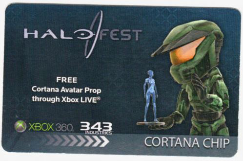 Halo Fest Cortana Chip Avatar Prop Exclusive at PAX Prime 2011 | www