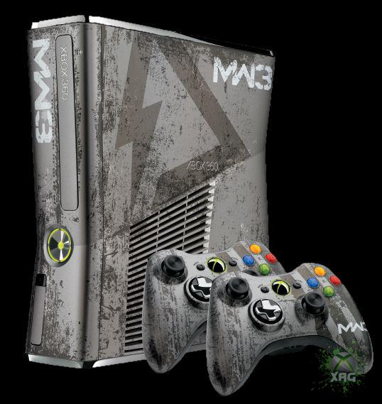 Xbox 360 Limited Edition Call Of Duty: Modern Warfare 3