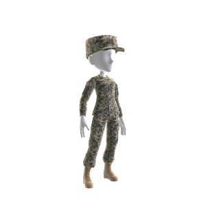 U.S. Army Combat Uniform Female