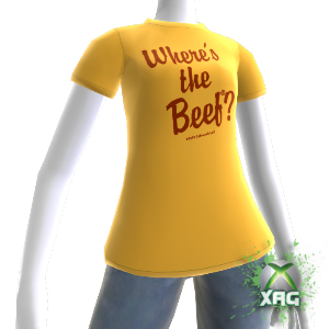 wwwXBOXAvatarGEARcom Wendy's® Avatar T-Shirt Female