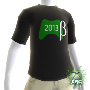 2013 Live Update Beta Shirt Male