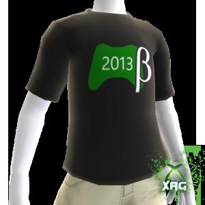 2013 Live Update Beta Shirt Male